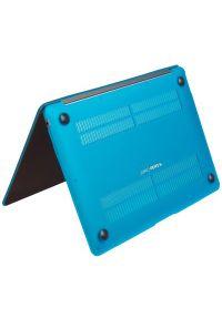 Etui na laptopa GECKO Clip On MacBook Air 13 Niebieski. Kolor: niebieski. Materiał: tworzywo sztuczne, materiał