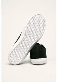Lacoste - Tenisówki Lerond. Nosek buta: okrągły. Zapięcie: sznurówki. Kolor: czarny. Materiał: syntetyk, guma, materiał. Szerokość cholewki: normalna #3