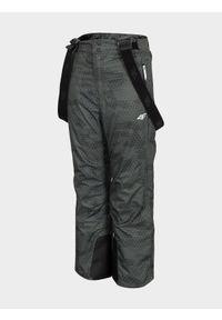 Wielokolorowe spodnie narciarskie 4f na zimę