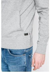 Szara bluza nierozpinana PRODUKT by Jack & Jones z kapturem
