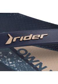 Niebieskie klapki na basen Rider