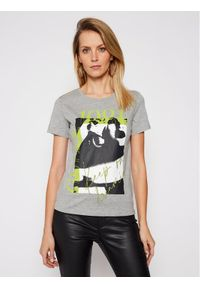 Guess T-Shirt 1981 W1RI49 I3Z00 Szary Regular Fit. Kolor: szary