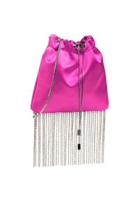Różowa torebka Jenny Fairy zdobiona, z aplikacjami