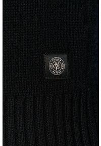 Niebieski sweter Marc O'Polo krótki, casualowy
