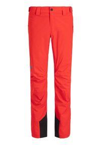 Czerwone spodnie sportowe Helly Hansen narciarskie
