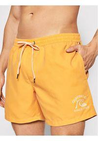"""Quiksilver Szorty kąpielowe Surfwash 15"""" EQYJV0369 Żółty Regular Fit. Kolor: żółty"""