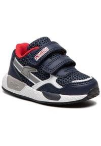 Primigi - Sneakersy PRIMIGI - 7447411 Navy. Zapięcie: rzepy. Kolor: niebieski. Materiał: skóra ekologiczna, materiał. Szerokość cholewki: normalna