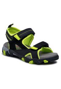 Czarne sandały Superfit
