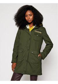 Zielona kurtka przejściowa Desigual