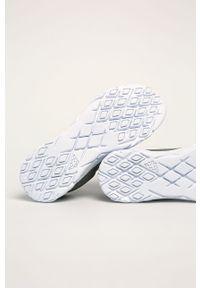 Szare sneakersy Kappa na sznurówki, z cholewką