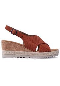 Brązowe sandały Gabor