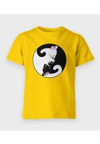 MegaKoszulki - Koszulka dziecięca Yin Yang Kotki. Materiał: bawełna