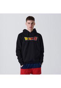 Cropp - Bluza z kapturem Dragon Ball - Czarny. Typ kołnierza: kaptur. Kolor: czarny