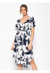 Niebieska sukienka letnia Roxy