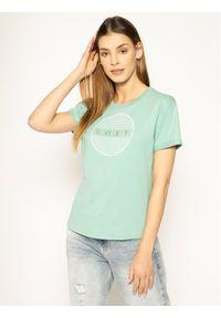 Zielony t-shirt Roxy