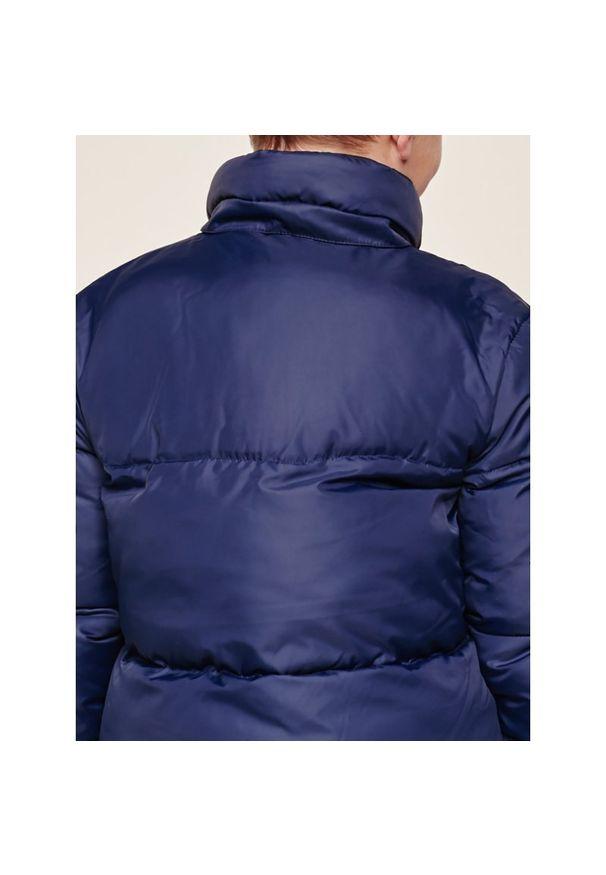 Niebieska kurtka zimowa Calvin Klein