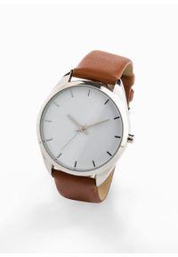 Brązowy zegarek bonprix