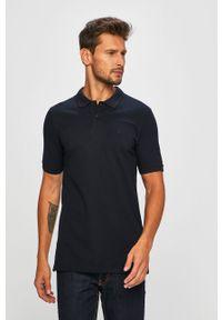 Niebieska koszulka polo Jack & Jones polo, krótka, casualowa