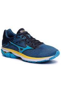 Niebieskie buty do biegania Mizuno z cholewką, Mizuno Wave