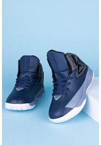 Niebieskie buty sportowe Casu