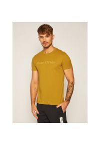 Żółty t-shirt Marc O'Polo polo