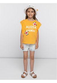 Pomarańczowy t-shirt Primigi