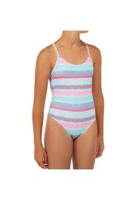 OLAIAN - Kostium Kąpielowy Jednoczęściowy Hiloe 100 Tamara Dla Dzieci. Materiał: poliester, materiał, elastan
