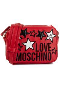 Czerwona listonoszka Love Moschino