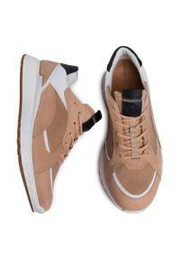 ecco - Sneakersy ECCO - St.1 M 83623451870 Powder/Beige/White/Black. Okazja: na co dzień. Kolor: beżowy. Materiał: skóra, nubuk. Szerokość cholewki: normalna. Styl: klasyczny, elegancki, casual