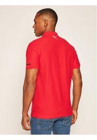 Czerwona koszulka polo Puma polo