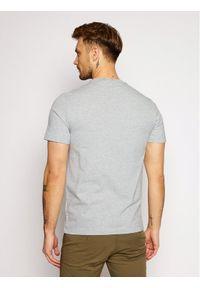 Lacoste T-Shirt TH1868 Szary Regular Fit. Kolor: szary