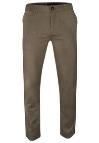 Spodnie Ravanelli w geometryczne wzory, casualowe, na co dzień
