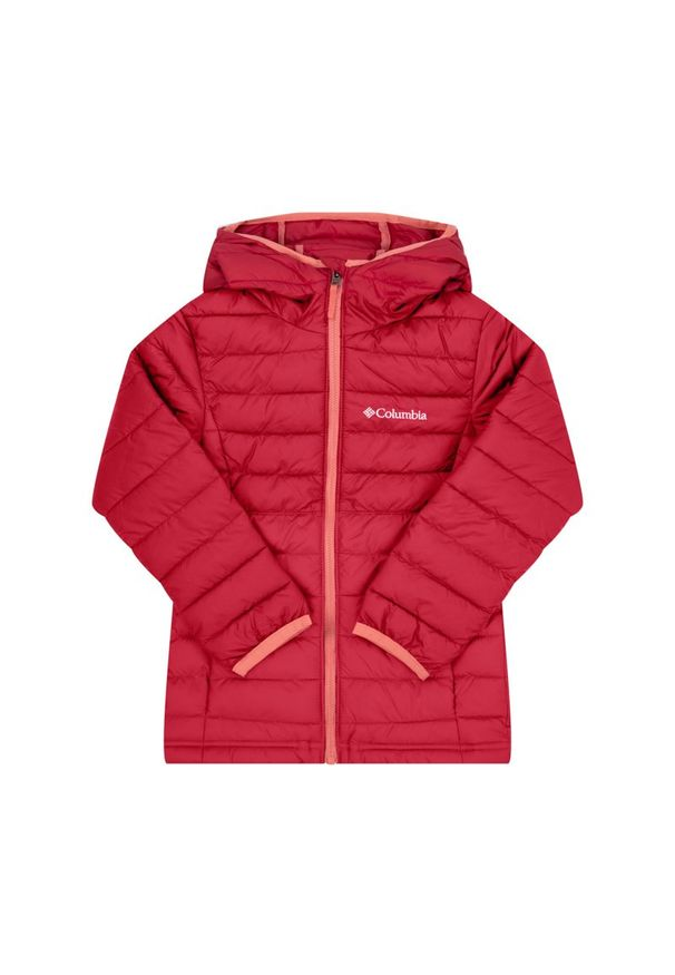 Różowa kurtka puchowa columbia