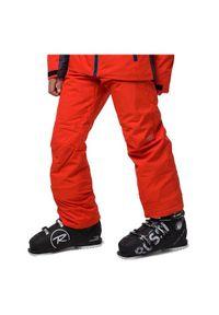 Spodnie dla dzieci narciarskie Rossignol RLJYP11. Materiał: tkanina, poliester, syntetyk, materiał. Sezon: zima. Sport: narciarstwo