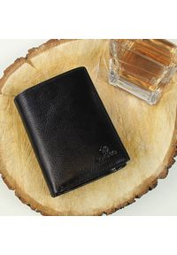 Czarny portfel Krenig