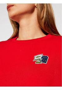 Czerwona bluza Lacoste