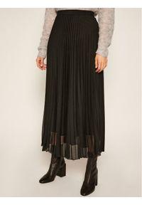 Czarna spódnica plisowana Marella