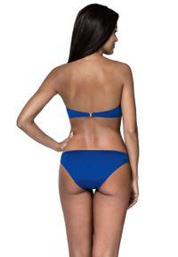 Niebieski strój kąpielowy dwuczęściowy Lorin z fiszbinami