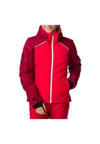 Kurtka damska narciarska Rossignol Courbe RLIWJ08. Materiał: materiał, tkanina, syntetyk, włókno, puch, poliester. Technologia: Thinsulate. Sport: narciarstwo