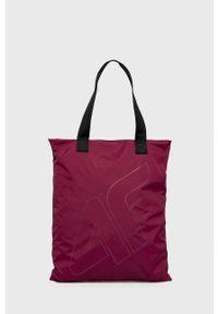 4f - 4F - Torebka. Kolor: fioletowy. Rodzaj torebki: na ramię