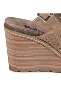 Brązowe sandały Refresh na co dzień, casualowe