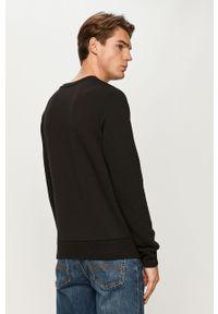 Czarna bluza nierozpinana Jack & Jones na co dzień, casualowa