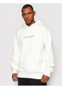 Local Heroes Bluza Get Lucky SS21S0047 Biały Oversize. Kolor: biały