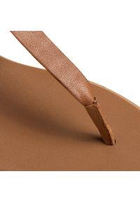 Brązowe sandały TOMMY HILFIGER na co dzień, casualowe