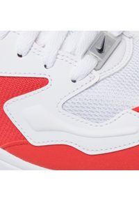 Białe półbuty Nike z cholewką, casualowe