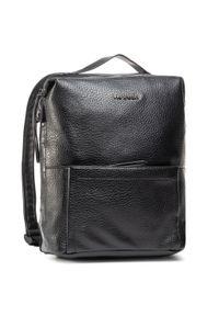 Czarny plecak Refresh sportowy