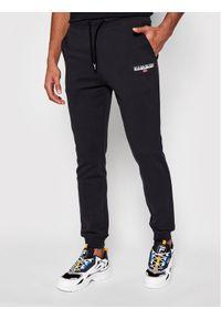 Czarne spodnie dresowe Napapijri