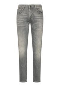 Baldessarini Jeansy John 16511/000/1484 Szary Straight Fit. Kolor: szary. Materiał: jeans