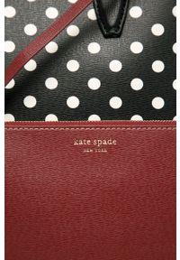 Kate Spade - Torebka. Kolor: czarny. Rodzaj torebki: na ramię