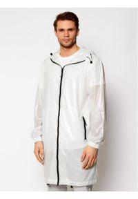 Rains Kurtka przeciwdeszczowa Unisex 1844 Biały Regular Fit. Kolor: biały